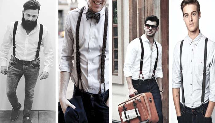 How To Wear Suspenders With Jeans