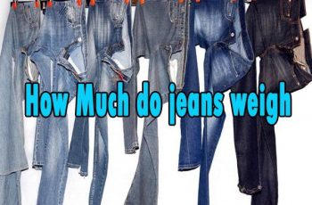 How much do jeans weigh