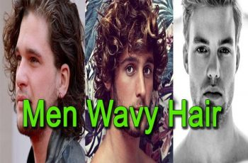 How to get wavy hair men