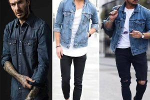 What to wear with denim shirt male