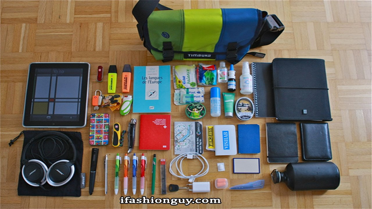 Travel accessories for men