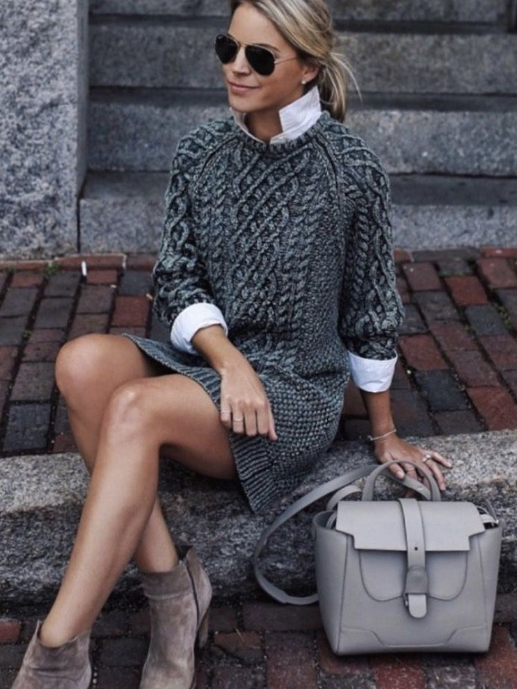 Sweater-Style Dress