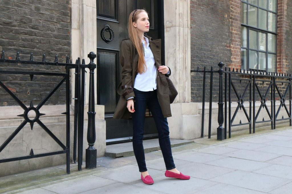 women wear Loafers for Outings