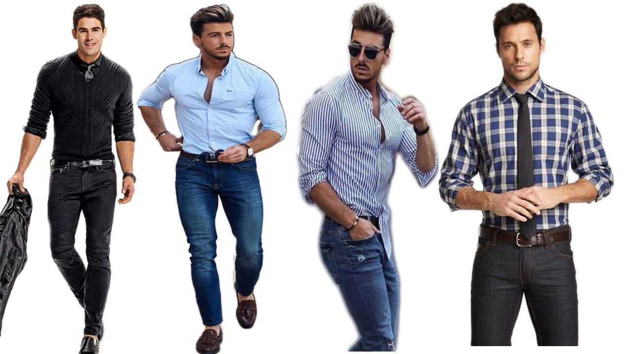 13 Sexiest Way to Wear a Dress Shirt With Jeans in 2019