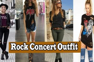 What To Wear To A Rock Concert