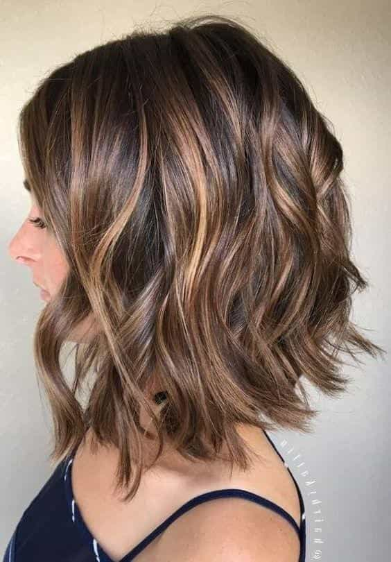 Short Hair Highlights Color