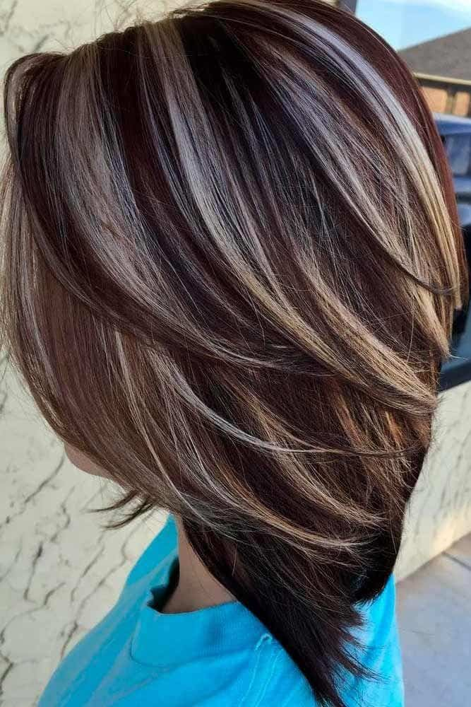Short Hair Highlights Hair Color Ideas For Short Hair 2020