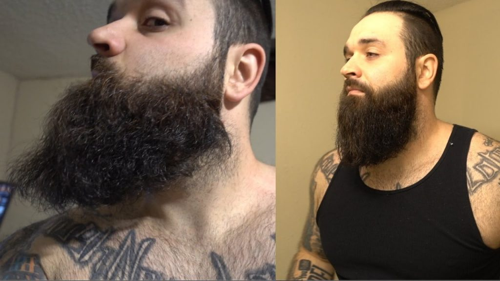 Curly Beard V.S. Straight