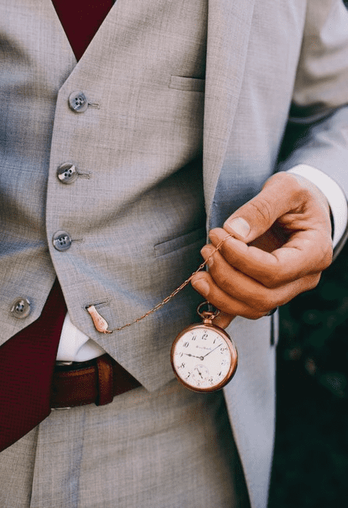 How to wear a pocket watch with a vest,vest with pocket watch