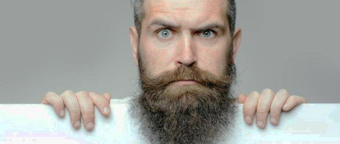 How to deal with Curly Beard,curly beard