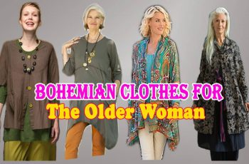 Bohemian clothes for the older woman