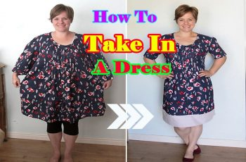 How To Take In a Dress