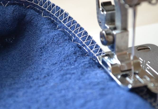 how to taper jeans, sewing jeans hem