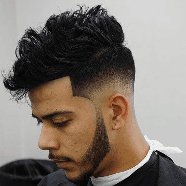 Tapered Fade,how to fade a beard