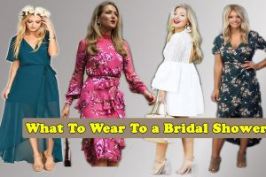 what to wear with bridal shower