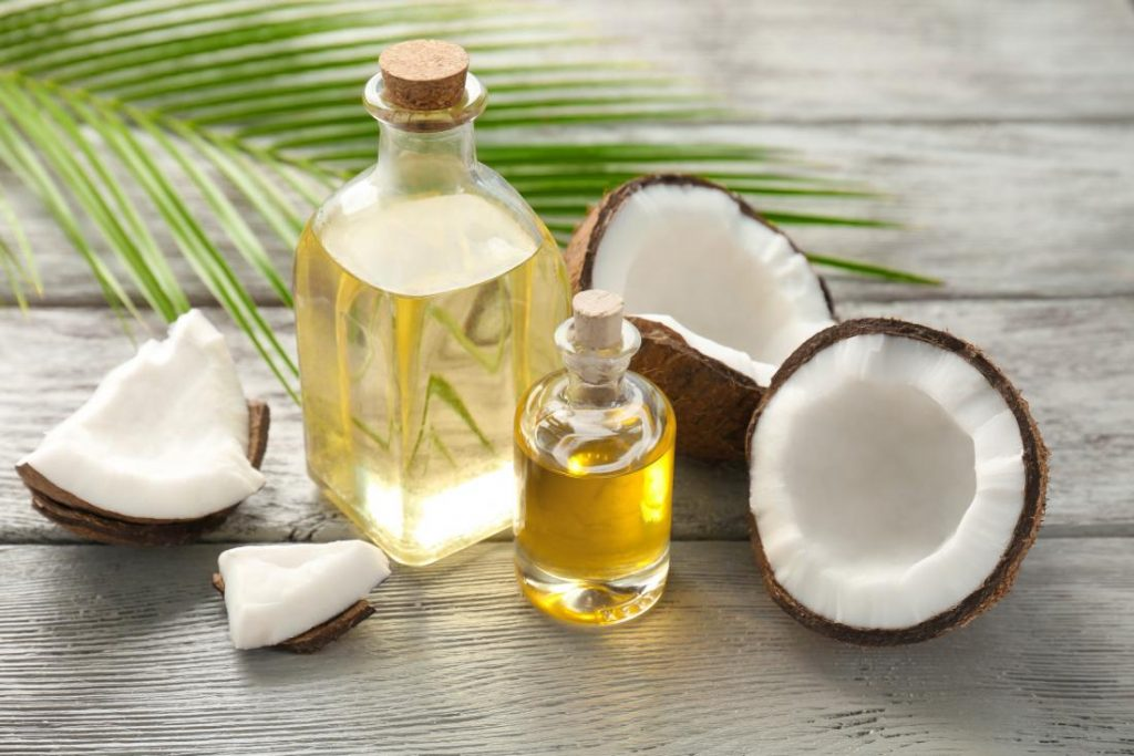 How to Get Rid Of Tan Lines, coconut oil