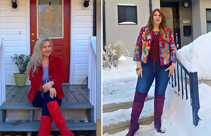 How to Dress Over 50 and Overweight