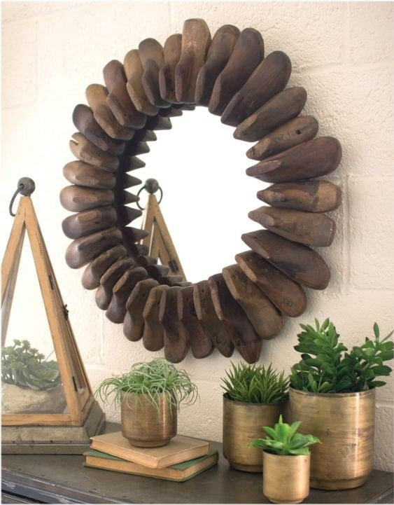 use old shoe for diy mirror,What To Do With Old