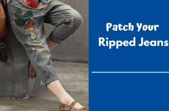 How To Patch Jeans