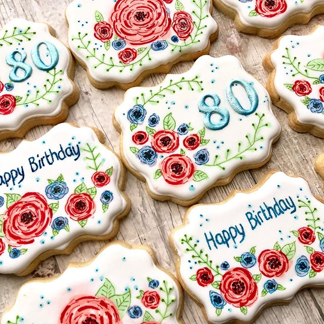 Innovative cookies and snacks,80th Birthday Party